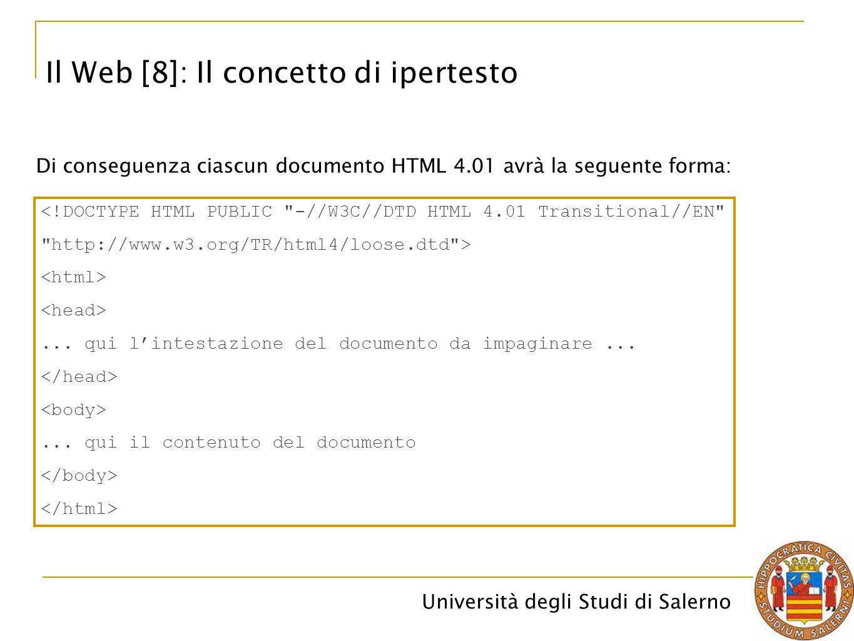 Il Web [8]: Il concetto di ipertesto